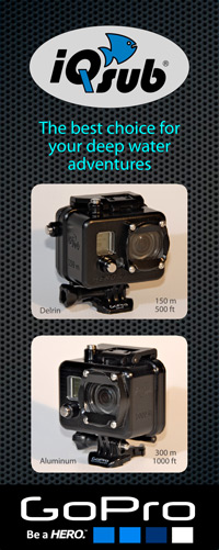 iQsub GoPro Hero housing